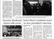 Print Edition of The Observer for Friday, February 14, 2020