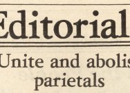 From the Archives: When students tried to abolish parietals