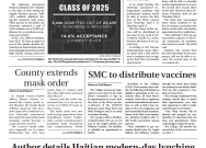 Print Edition for Wednesday, March 31, 2021
