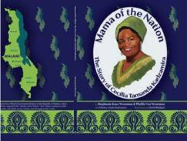 The cover and spine of Mama of the Nation.