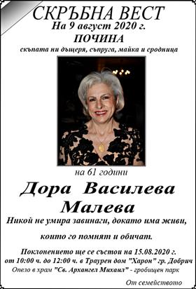 Дора Василева Малева
