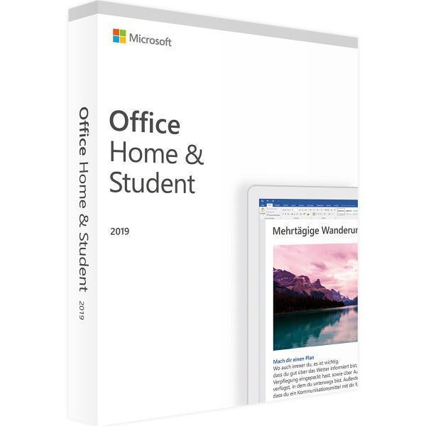 Microsoft Office 2019 Home and Student Windows version - MICROSOFT