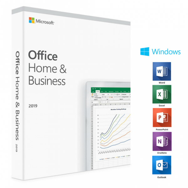 Microsoft Office 2019 Home and Business For Windows - MICROSOFT