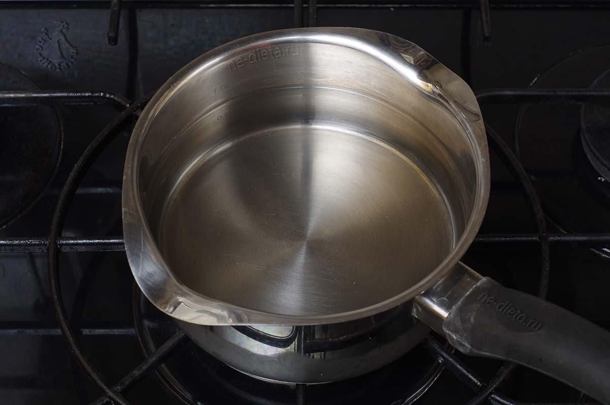 Att koka vatten
