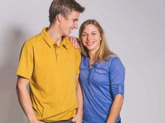 Jorg Verhoeven und Katha Saurwein