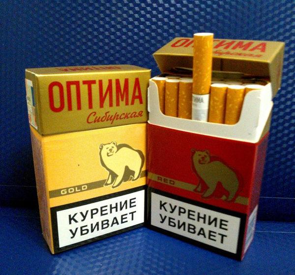 Optima cigaretter.