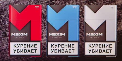 Maxim cigaretter.