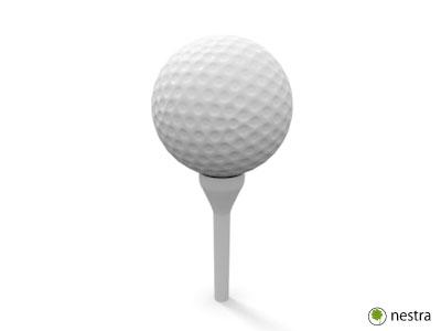 肩関節ゆるいゴルフボール