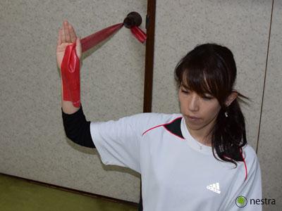 肩インナーマッスルトレーニング8