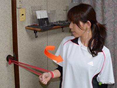 肩インナーマッスルトレーニング7
