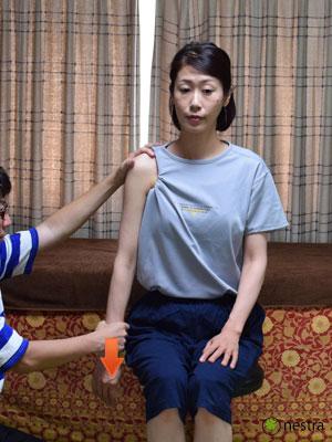肩の痛みテスト4まとめ-ディンプルサイン2