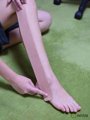 腓骨筋テーピング3