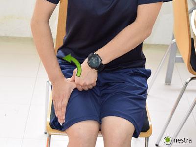 手の腱鞘炎-水掻きストレッチ3
