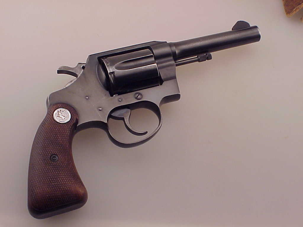 Colt Police Positive 38 Special 4 Revolver