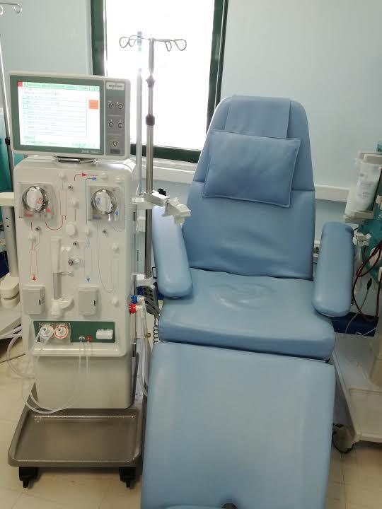 0-1-62 12 νέα μηχανήματα αιμοκάθαρσης στo Bενιζέλειο