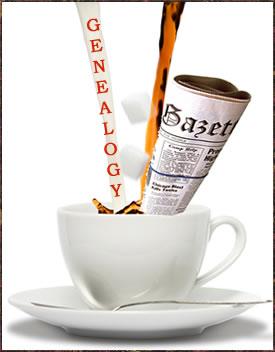 Coffee-Newspaper-Genealogy
