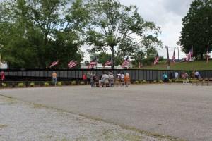 The Vietnam Memorial Moving Wall