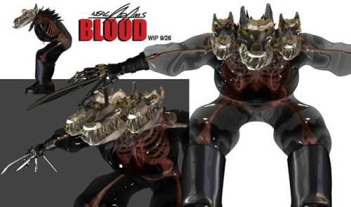 Neal Adams - Blood - Kithrumbus CGI