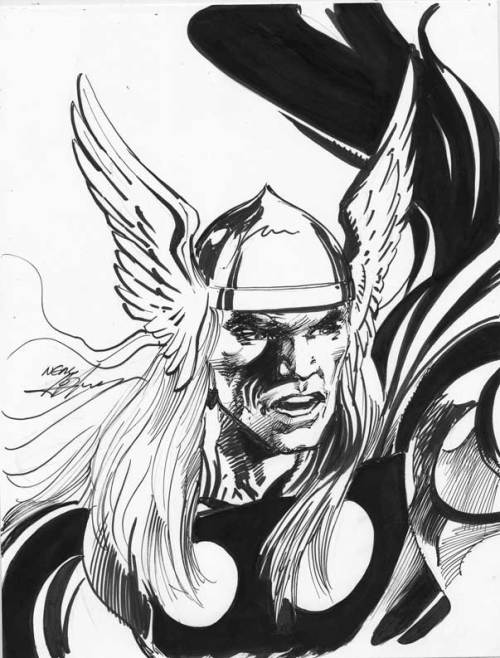Neal Adams - Thor - Original Inks