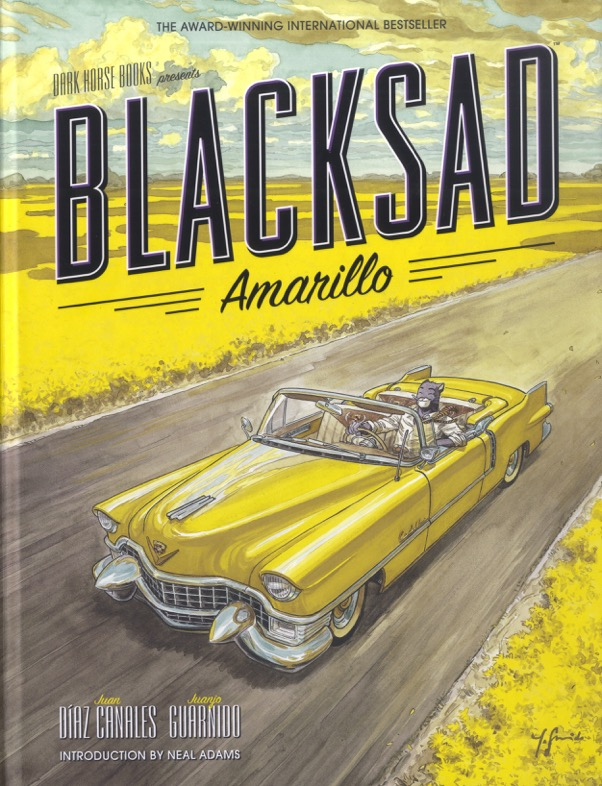 Dark Horse Presents: Blacksad Amarillo - Cover