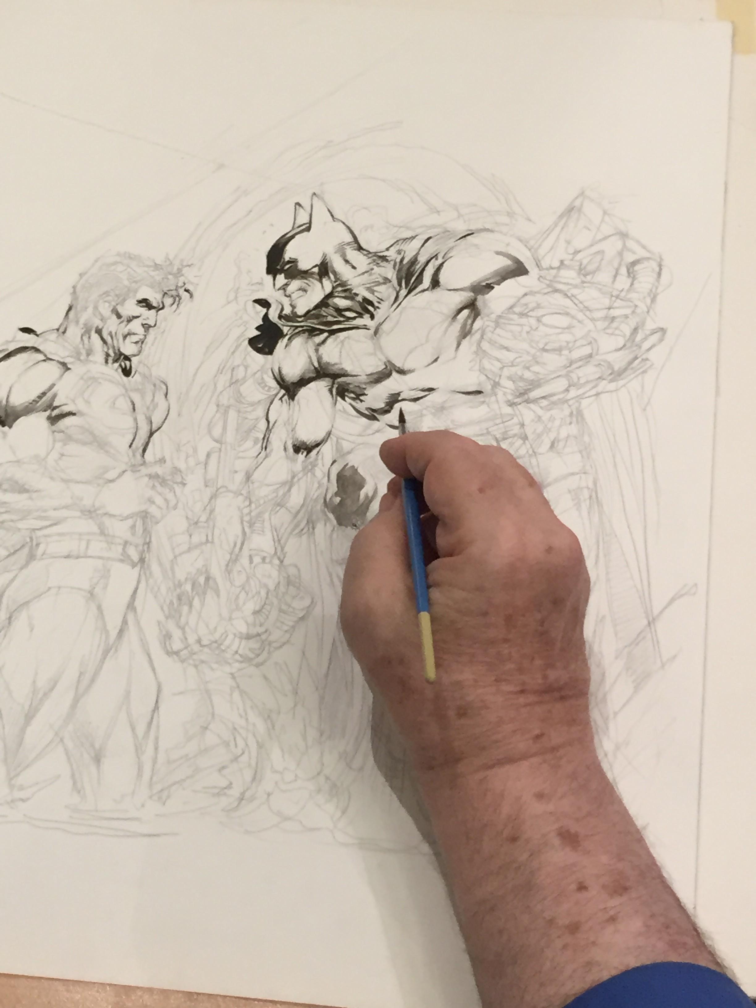 Neal Adams - Batman vs Superman