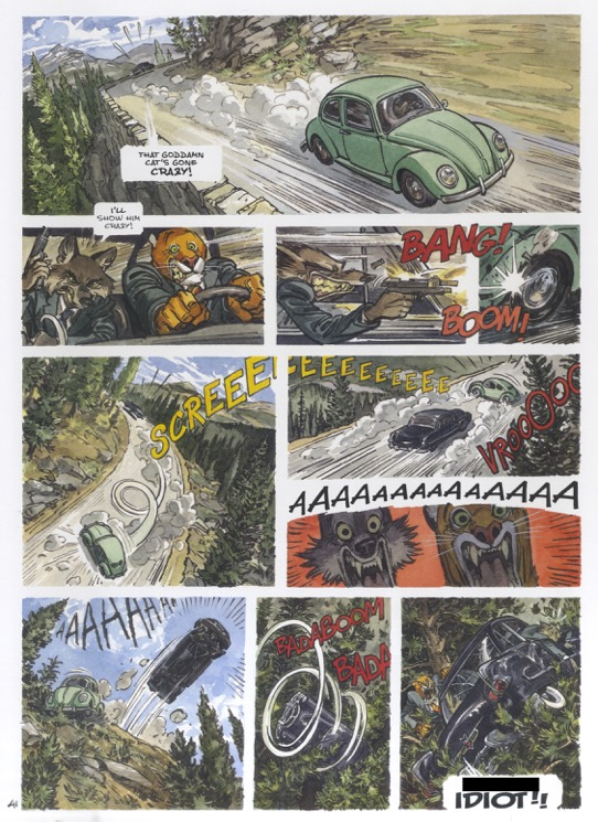 Dark Horse Presents: Blacksad Amarillo - Page 3