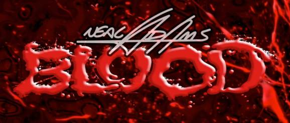 Neal Adams - Blood - Splatter Logo