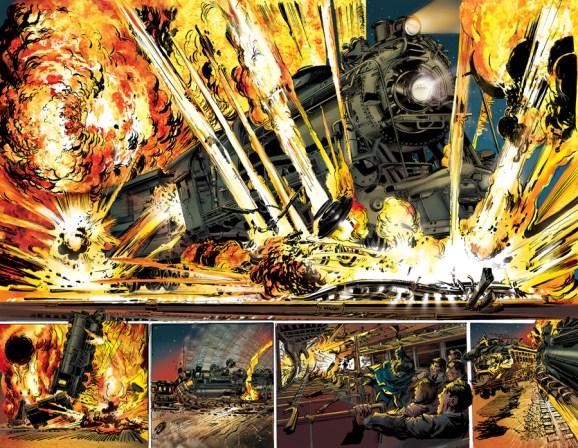 Neal Adams' Batman Odyssey #2 pages 19-20