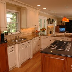 Kitchen Cabinet Cost Compost Pail For Open & Elegant Remodel | Montgomery, Oh