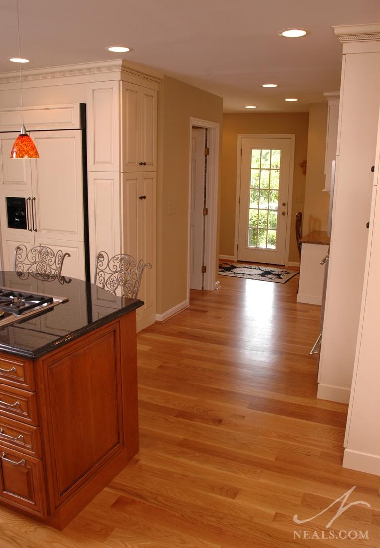 kitchen remodel design cost homedepot cabinets open & elegant | montgomery, oh
