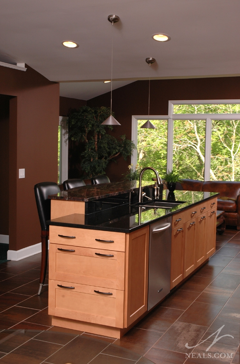 Contemporary Asian Kitchen Remodel  Blue Ash OH