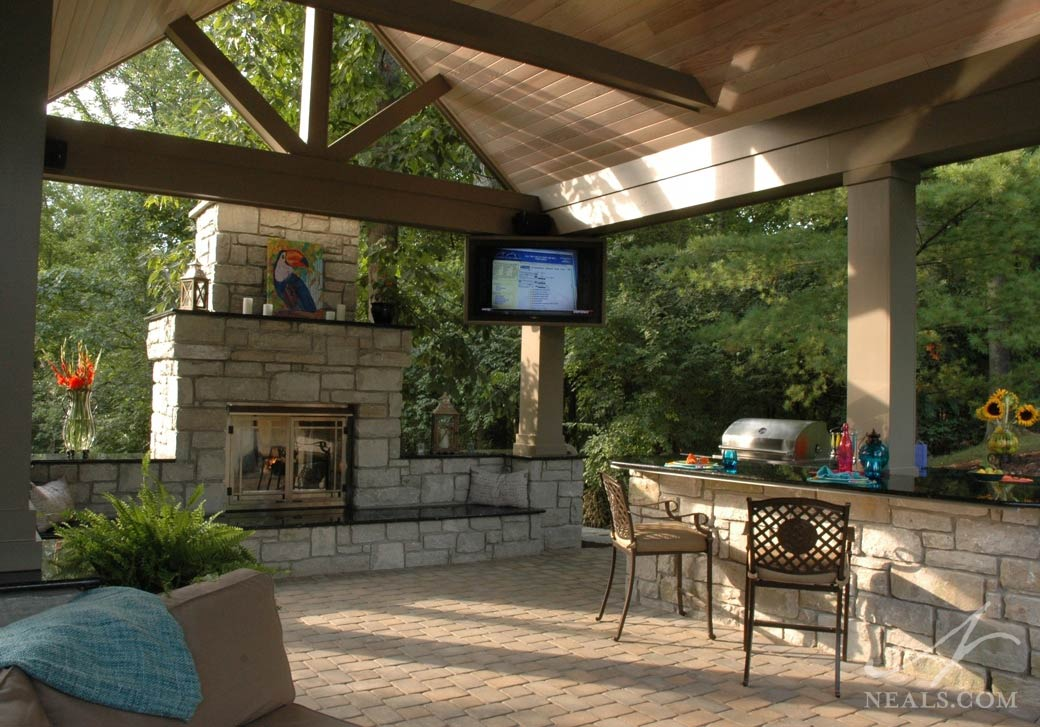 Poolside Pavilion  Mt Airy OH