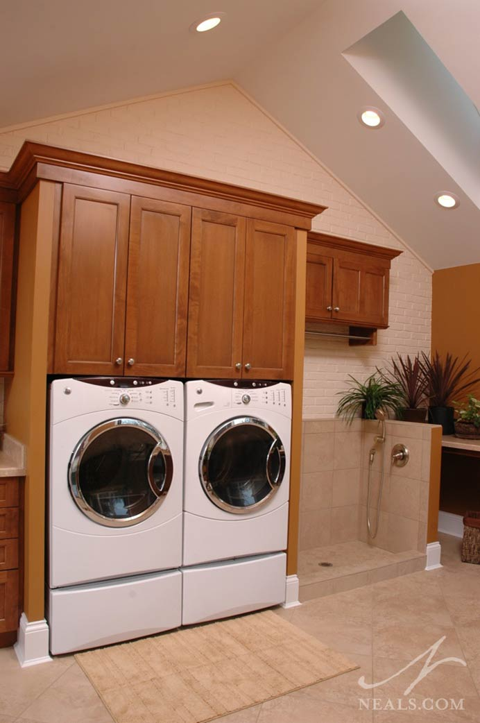 Laundry Room Addition  Neals Design  Remodel