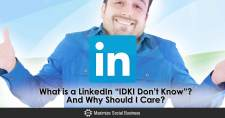 What is a LinkedIn IDK?  And Why Should I Care?