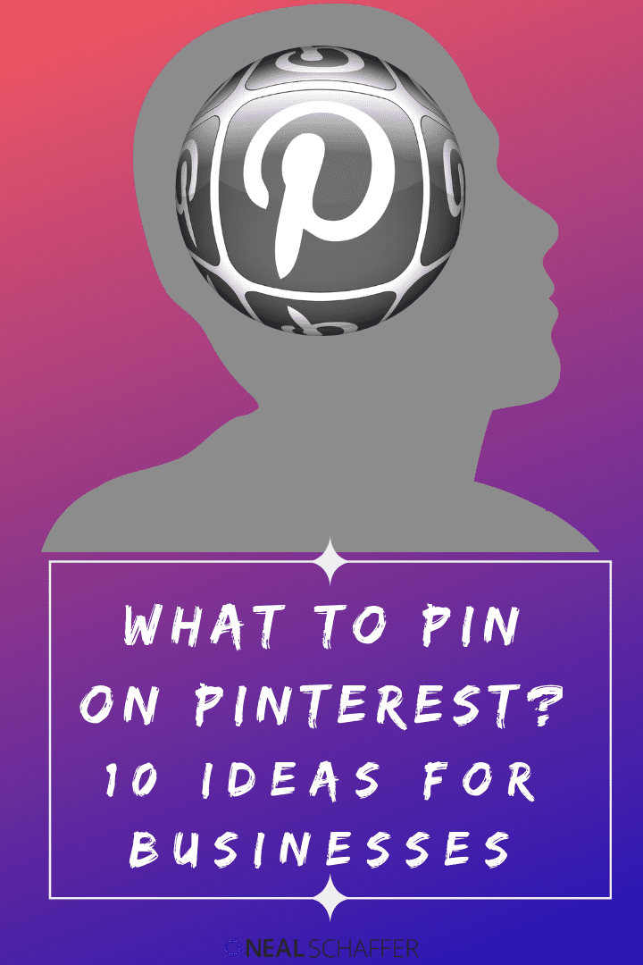 Have you been thinking about using Pinterest to market your business? Wondering what you should pin on Pinterest? Here are 10 business ideas for you.