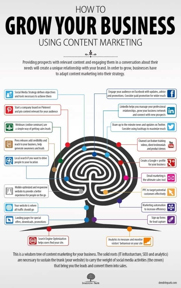 For more tips on how to leverage the power of social media content and grow your business to new heights, check out this interesting infographic.
