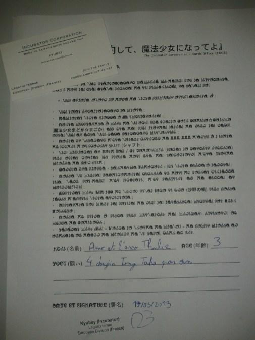 Tu veux signer un contrat ?