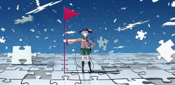 Lève ton drapeau et fais raisonner ta voix, par endlesscat