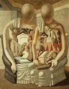 The Archeologists; Gli Archeologi. Giorgio de Chirico (1888-1978). Oil on canvas. Painted in 1927. 146 x 114cm.