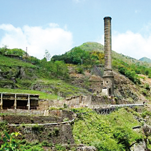 Japanese History and Culture -Ashio Mines - Modern Japanese History nearby Tokyo