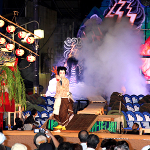 Photo Of Man Preforming At Yamaage Festival Nearby Tokyo (UNESCO Intangible Cultural Heritage)