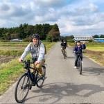 Exploring Nasu town by bicycle