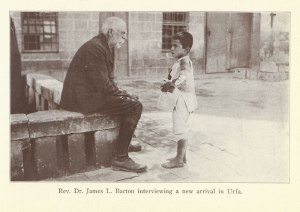 James L. Barton welcomes a child to Urfa