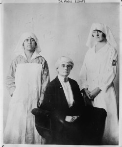 Dr. Mabel Elliott joined Near East Relief through American Women's Hospital. She oversaw the medical system in the Caucasus, which was the largest medical system in the world at the time.