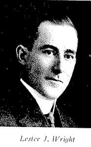 Portrait of Lester J. Wright