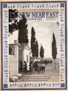 New Near East Cover, October 1923