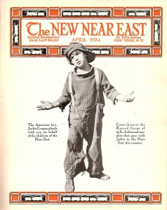 New Near East Cover, April 1924