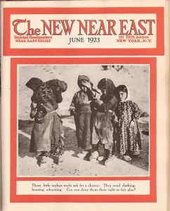 New Near East Cover, June 1923