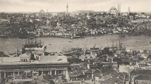 View of Constantinople, late 19th century