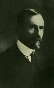 Dr. William A. Shedd was a Near East Relief worker in Persia. He died during the evacuation from Urumia to Hamadan. He saved the lives of hundreds, if not thousands, of refugees. Image from his wife Mary Lewis Shedd's 1922 book, The Measure of a Man.